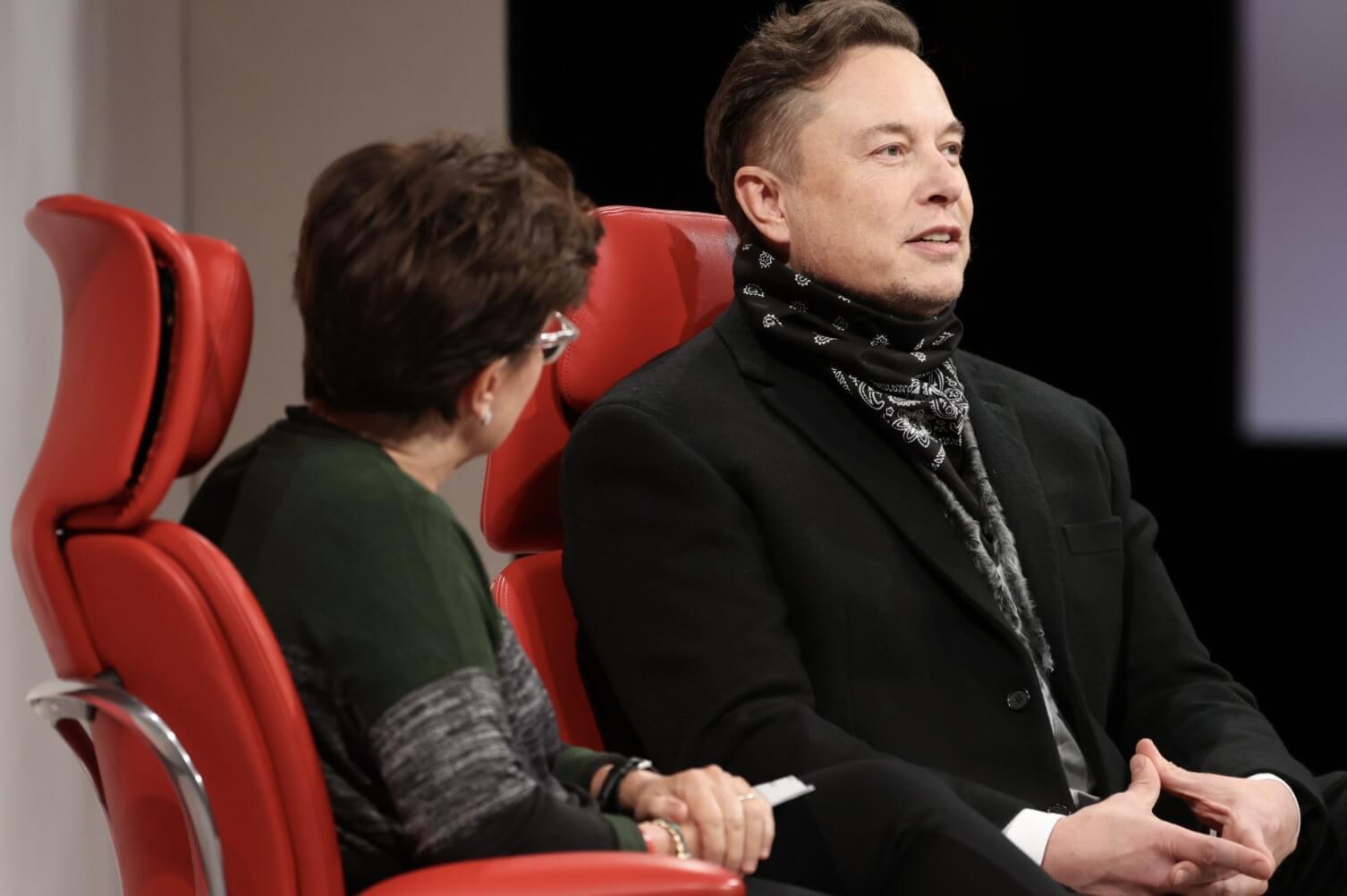Elon Musk FSD Tesla