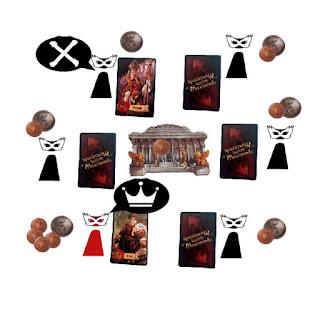 Reclamar la acción de un personaje en Mascarade el juego de mesa caso 1