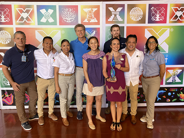 Xcaret management team
