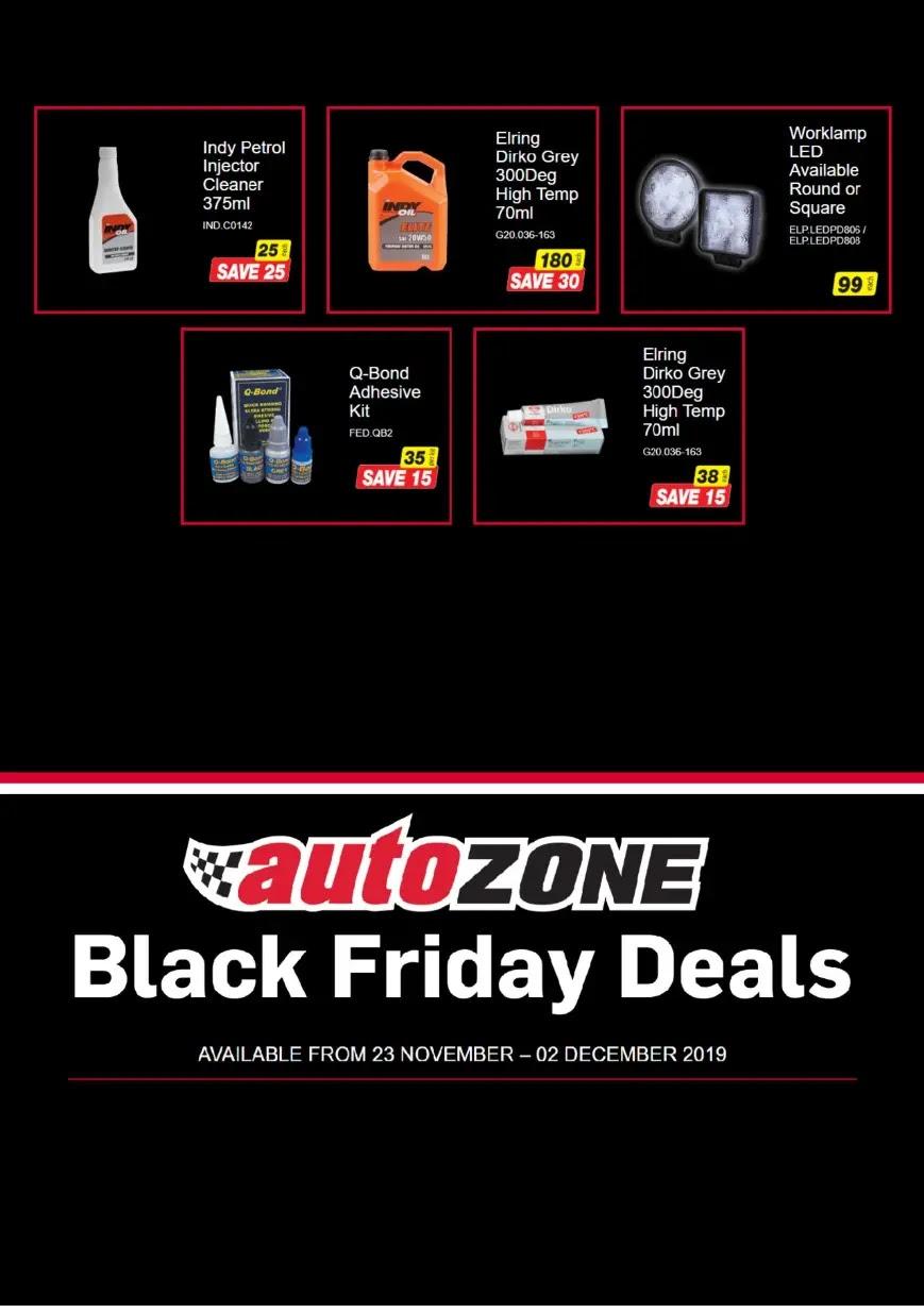 AutoZone - Black Friday  Page 2