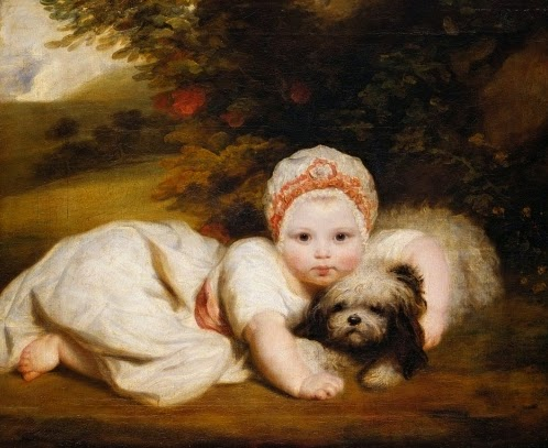 Princess Sophia Matilda of Gloucester by Sir Joshua Reynolds, 1774