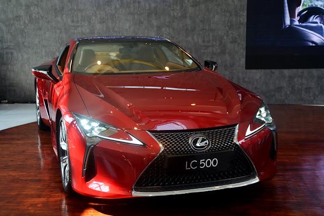 Lexus LC500 Harga