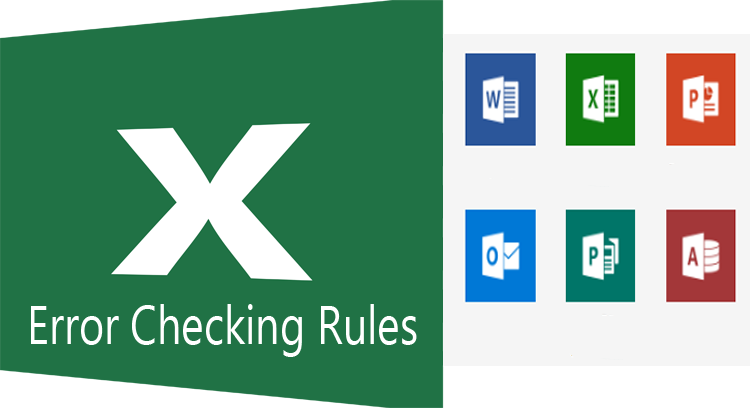 Error Checking Rules pada Pengaturan Excel