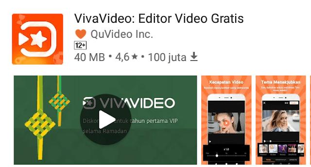 VivaVideo, aplikasi editor video terbaik untuk Android