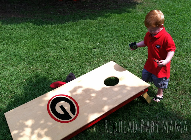UGA clothes for toddler boys