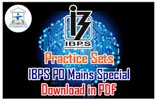 Practice Sets on Number Series | IBPS PO Mains Spl – Download in PDF