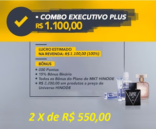 Kit Executivo Plus Hinode