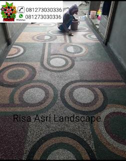 JASA PEMBUATAN LANTAI CARPORT/BATU SIKAT ~ Jakarta