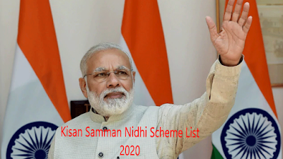 Kisan Samman Nidhi Scheme List 2020