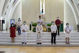 Baptisan Dewasa di Gereja Santo Albertus Paroki Harapan Indah