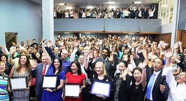 Novas Embaixadoras da Paz, título concedido por Wome`s Federation of World  Peace, em grande festa na Assembleia Legislativa, no plenário Franco  Montoro, ... 62631a0abf