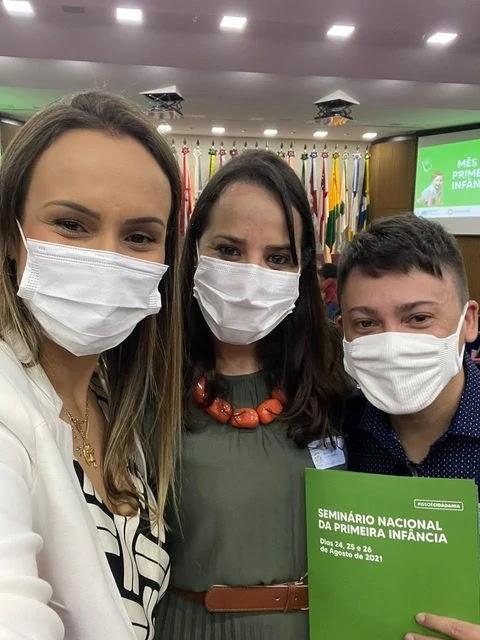 Profissionais do Criança Feliz da Ilha Comprida recebem homenagem  neste 26/08, em Brasília