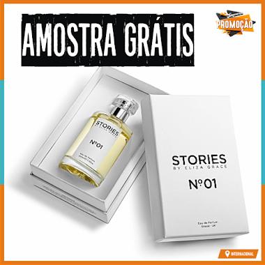 Amostra Grátis - Perfume Importado STORIES