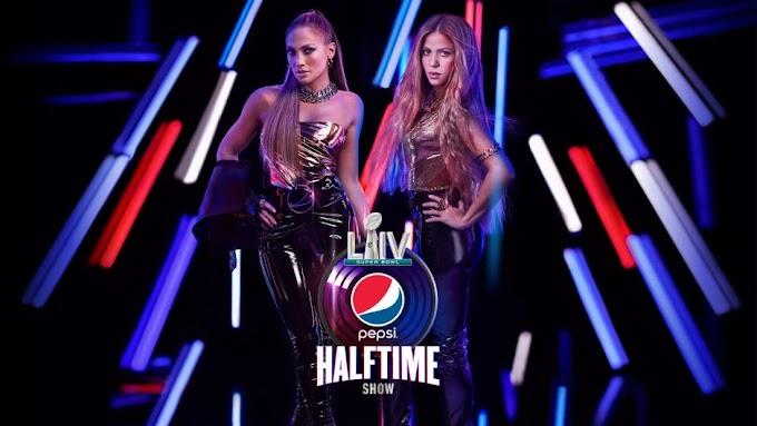 Jlo y Shakira se hacen virales por su actuación en la Super Bowl