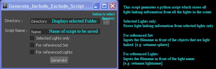 Maya Script Tools