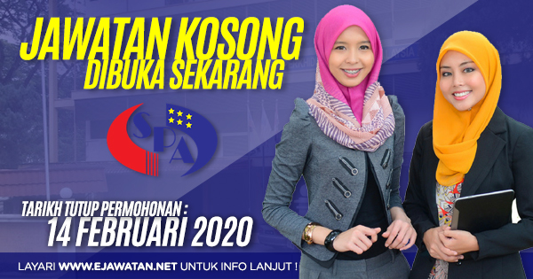 jawatan kosong kerajaan SPA Malaysia 2020