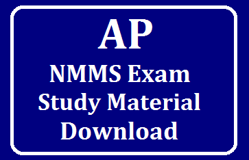 AP NMMS Exam National Means-cum-Merit-Scholarship Scheme Examinaton /2019/09/AP-NMMS-Study-Material-English-and-Telugu-Medium-Download.html