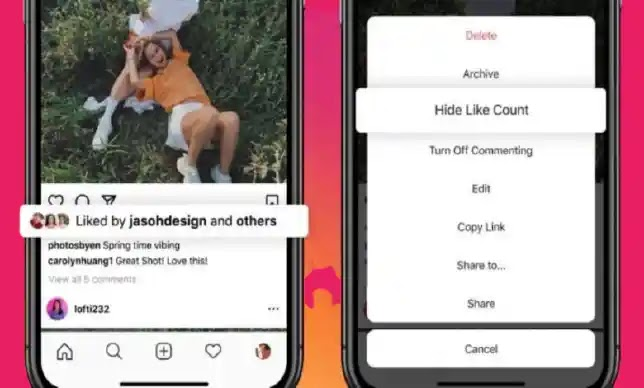 Soon FB and Instagram UsersCan Hide LikeCounts From Posts