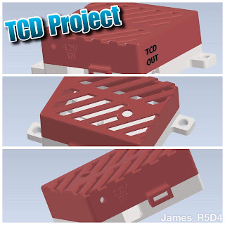 TCD project, electronics box, 3d printed