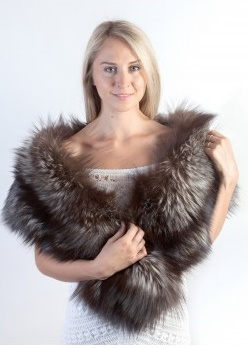 real fur stoles