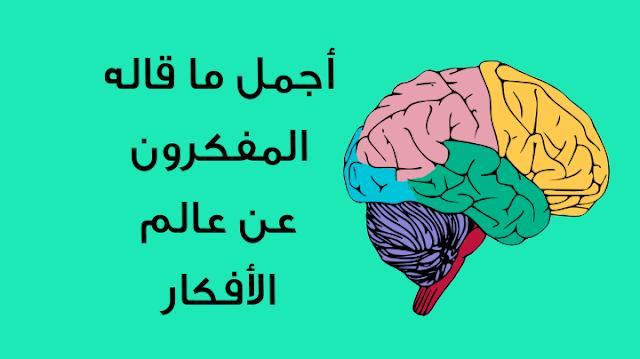 أجمل ما قاله المفكرون حول عالم الأفكار