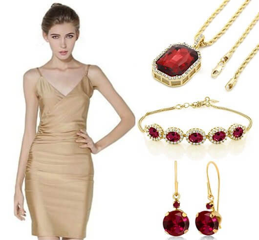Ruby Jewelry Styles Get Natural Colors from Pink to Red Blood-Hi-Fashion Dreams