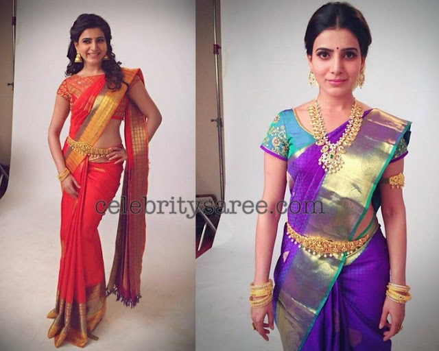 Samantha Trendy Traditional Saris