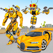 Bee Robot Car Transformation Game (Mod Money)