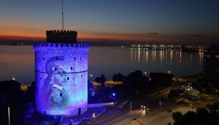 Ψεύτικη φωτογραφία η απεικόνιση Κολοκοτρώνη στον Λευκό Πύργο