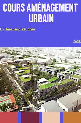 Définition aménagement urbain