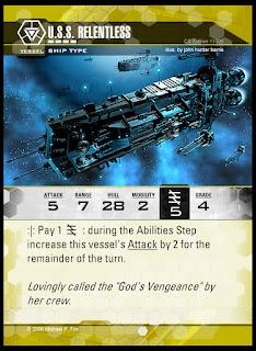 Vessel type: U.S.S. Relentless