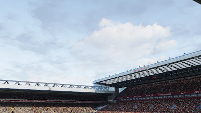 PES 2021 Stadium Anfield Addon by Endo (4K Sky Texture + Pitch )