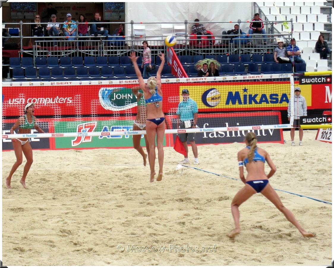 BEACH VOLLEYBALL BLOCKING SHIFTS