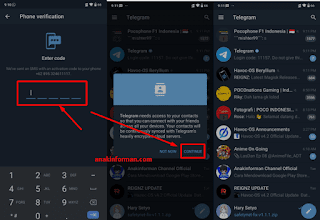 2 Cara Daftar  Telegram
