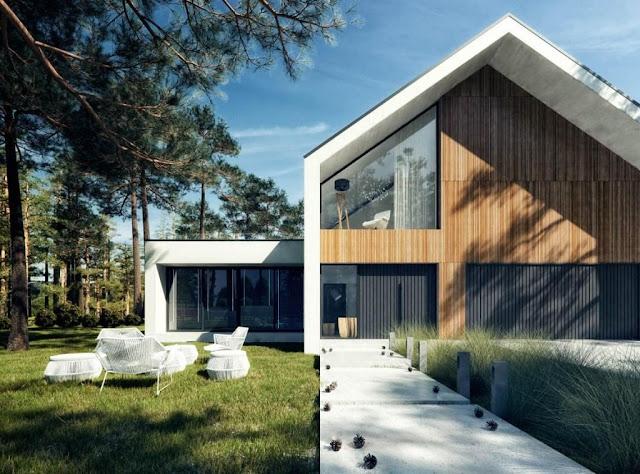 Rumah Scandinavian di Indonesia