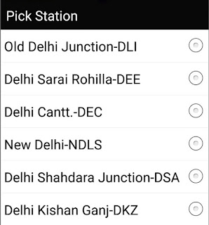 Pick Station Name