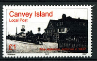 Canvey Local Post Admiral Jellicoe Pub Stamp