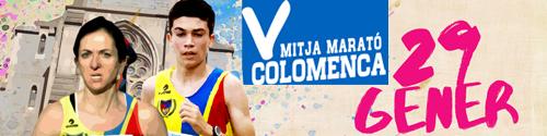 Sergio Enriquez y Cristina Solé se hacen con la victoria en Mitja Marató Colomenca 2017