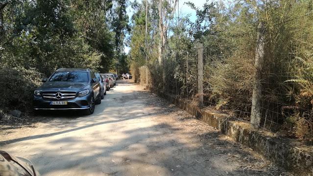 Estrada de acesso a Zona de Lazer