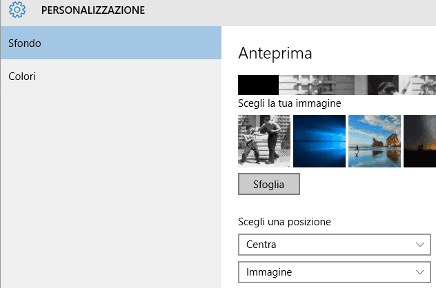 Come Cambiare Immagine Desktop Windows 10