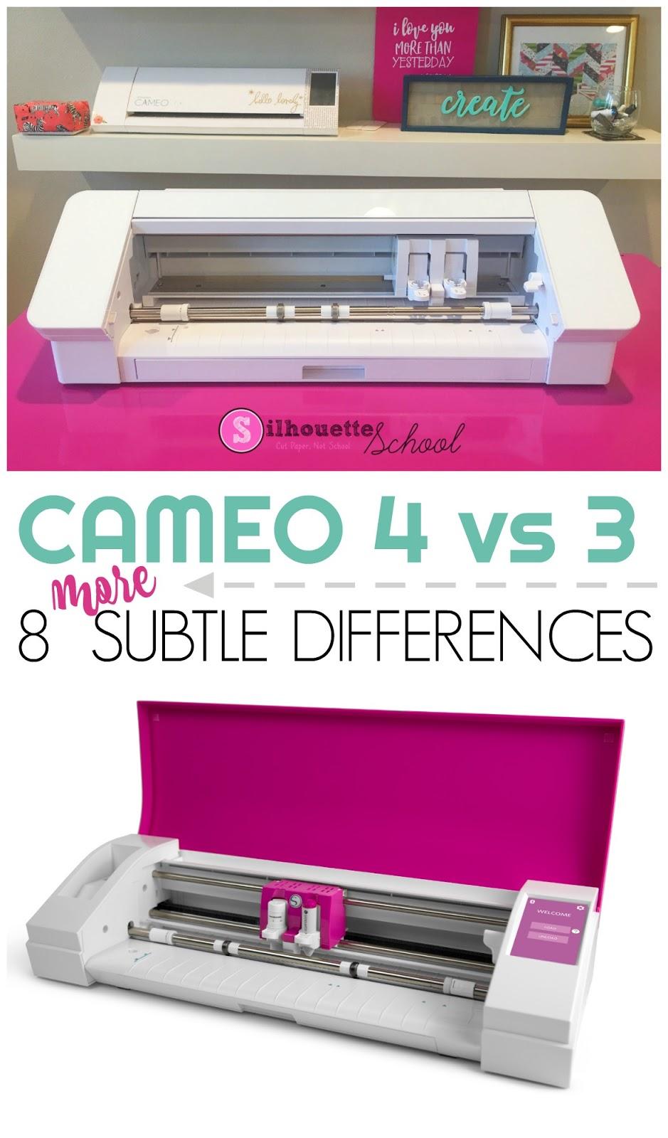 silhouette 101, silhouette america blog, silhouette cameo 4 tutorials, silhouette cameo 4 vs 3, cameo 4