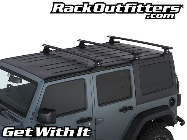 Jeep Wrangler Unlimited Rhino-Rack Vortex RLT600 3 Bar ...