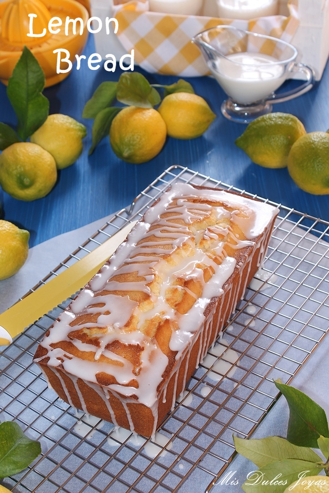 Lemon Bread (Pan de limón)