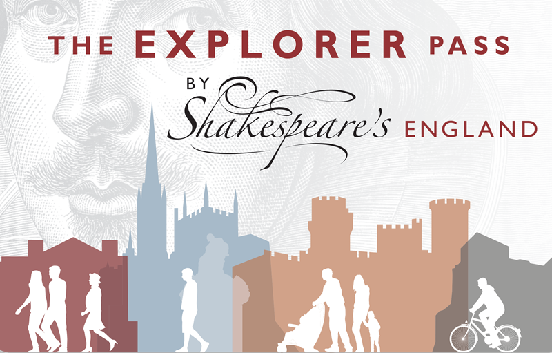 The Explorer Pass from Shakespeare's England