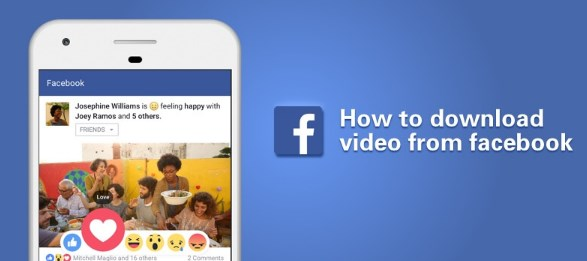 How to Download Video From Friends Facebook
