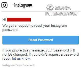 Cara Mudah Mereset Password Instagram Karena Lupa Kata Sandi Melalui Web Broswer 2