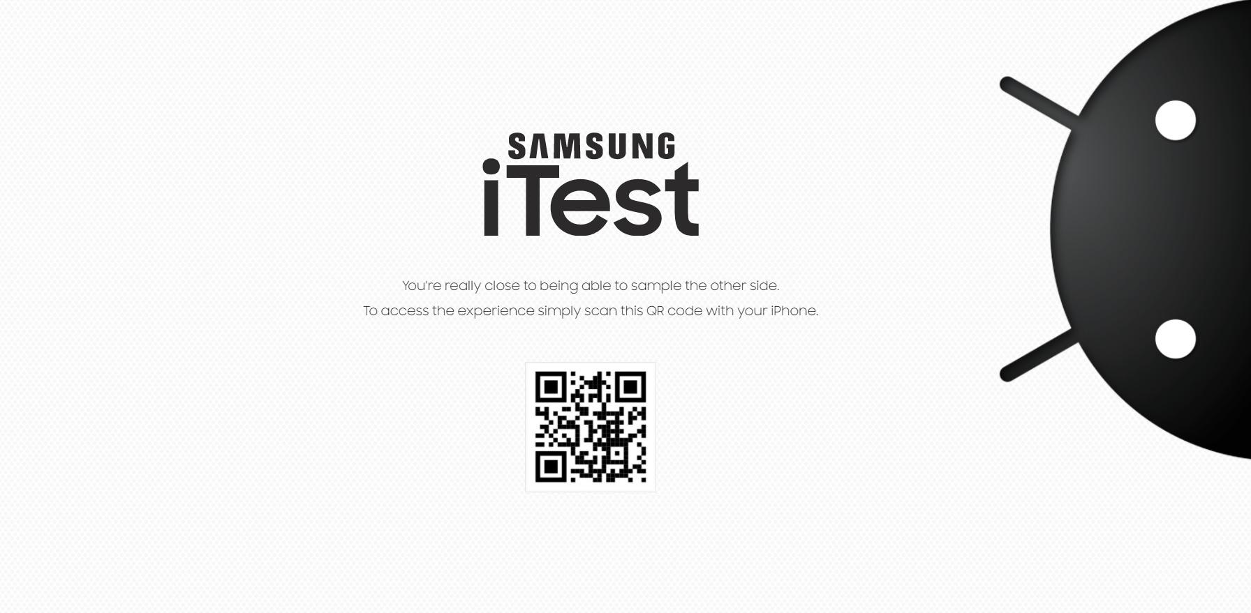 يمكن الآن لمستخدمي آيفون تجربة نظام أندرويد باستخدام iTest
