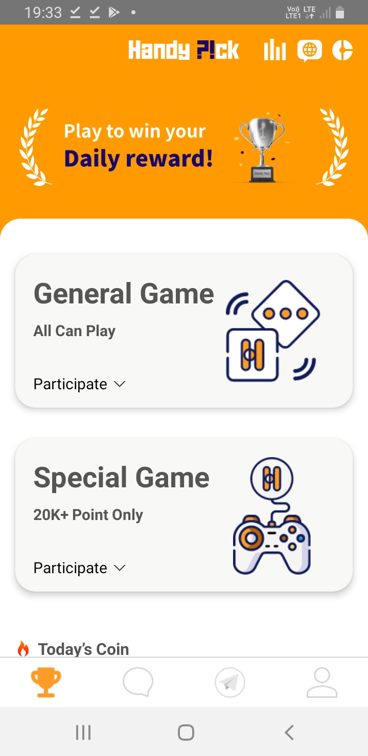 Free Handy decide $5 check in Bouns Predict Coin value and Earn cash