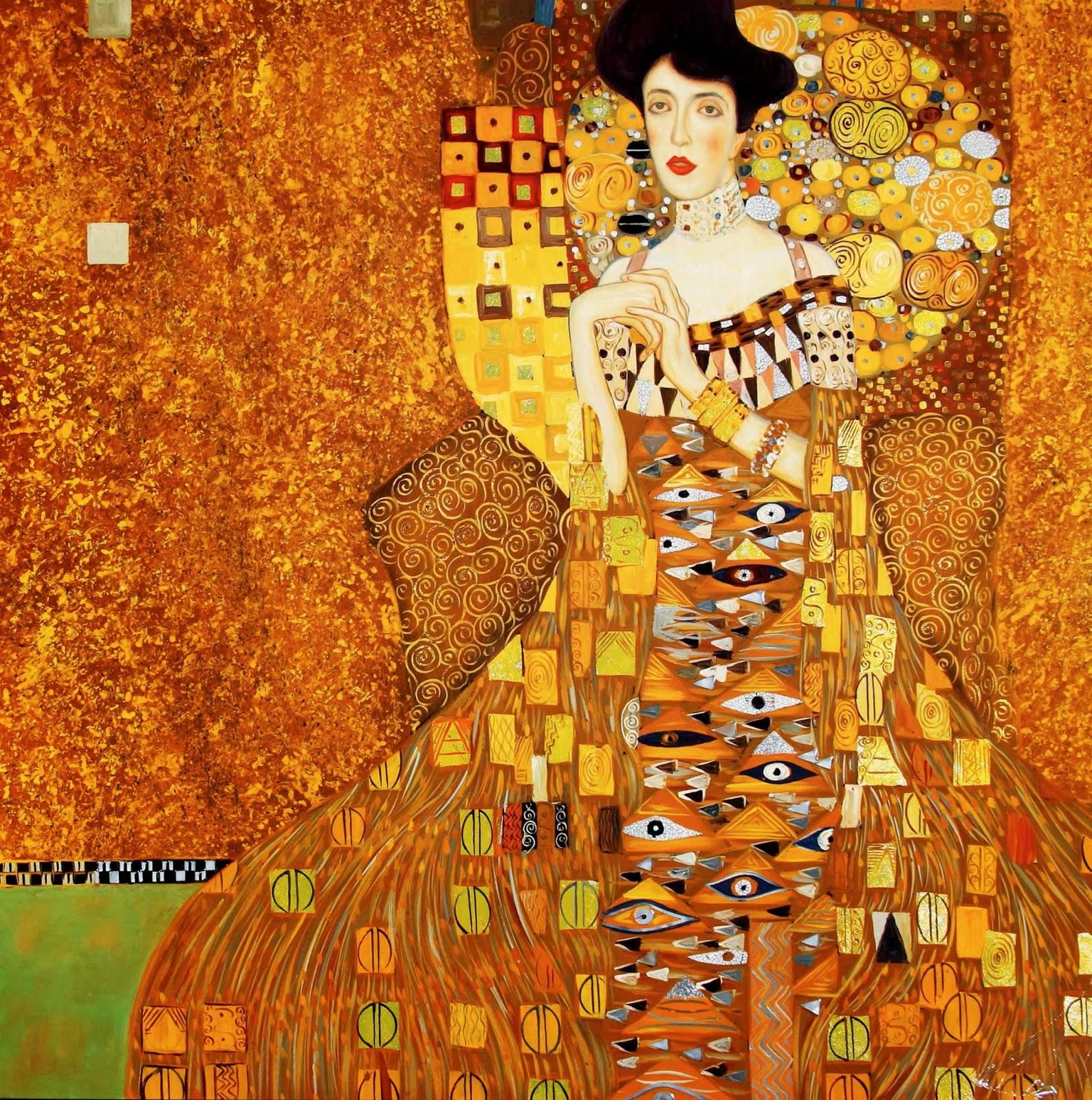 Lavrapalavra Gustav Klimt Anima 231 227 O Do Quadro De Klimt