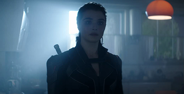 Melina (Rachel Weisz) holds information that may help Natasha Romanoff find an old foe in BLACK WIDOW.